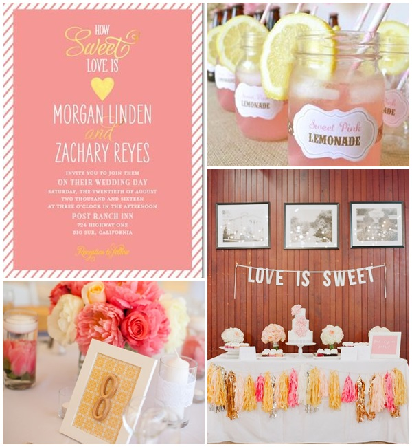 Wedding Philippines - Weddings by Color - Pink + Yellow Wedding Ideas 02