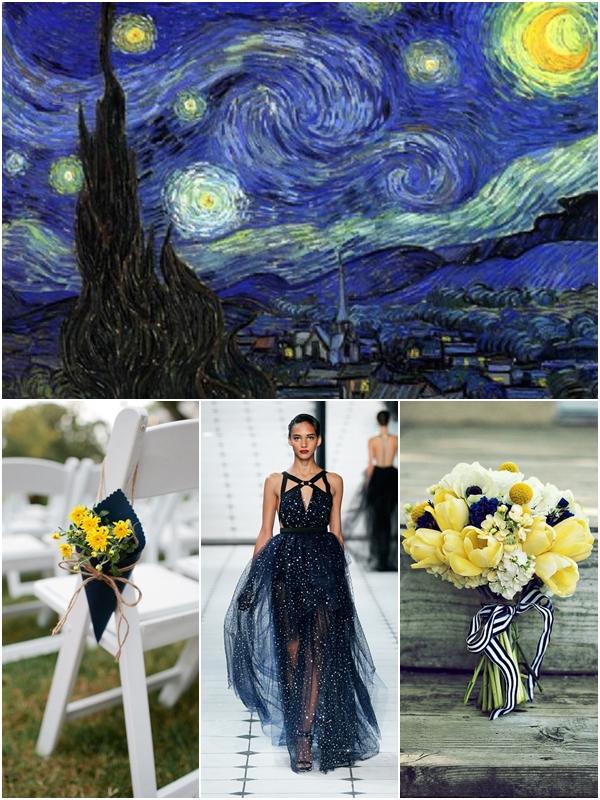 Van Gogh Art Inspired Weddings Wedding Philippines