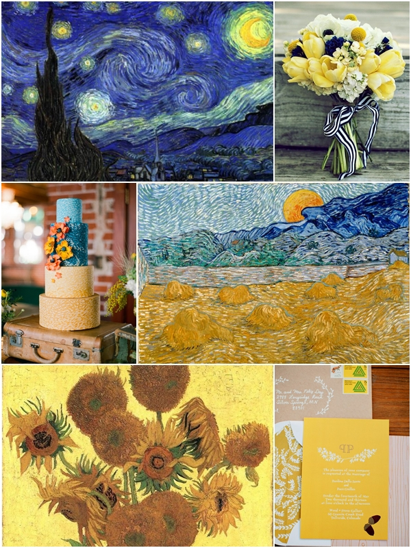 Wedding Philippines - Van Gogh Art Painting Inspired Weddings