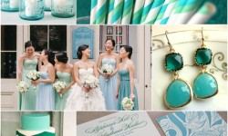 Shades of Aqua + Emerald
