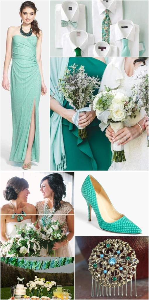 Wedding Philippines - Weddings by Color - Aqua Emerald Wedding Ideas 02