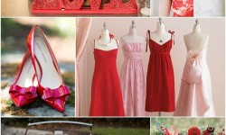 Shades of Poppy Red
