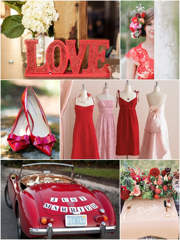 Wedding Philippines - Weddings by Color - Poppy Red Wedding Ideas 01