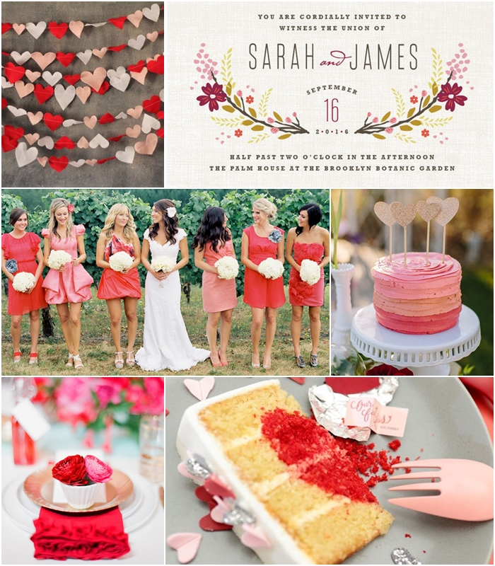 Wedding Philippines - Weddings by Color - Red Pink Wedding Ideas