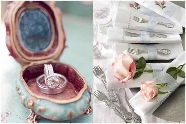Antique Jewelry Box   |Place Setting