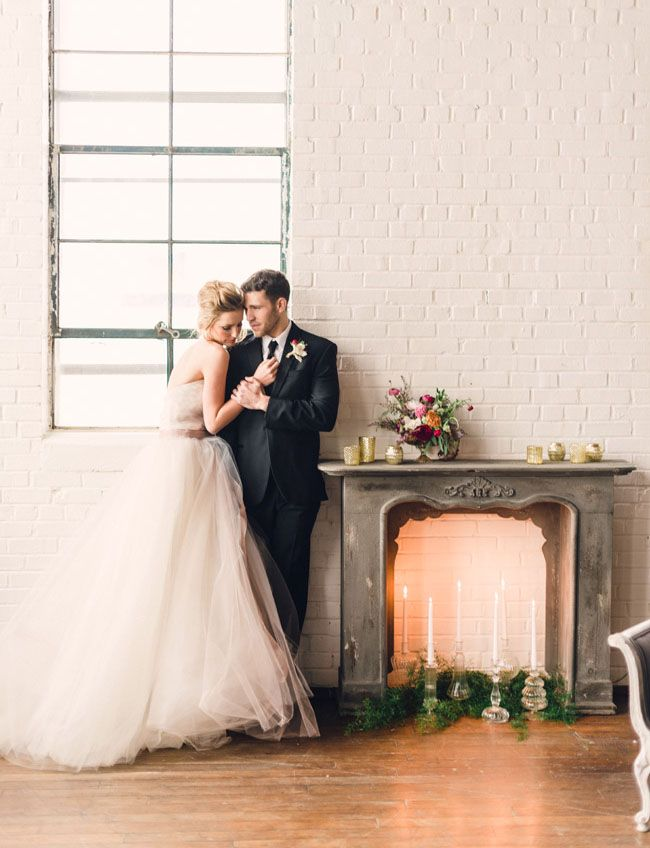 Photo by Rustic White Photography  via Green Wedding Shoes