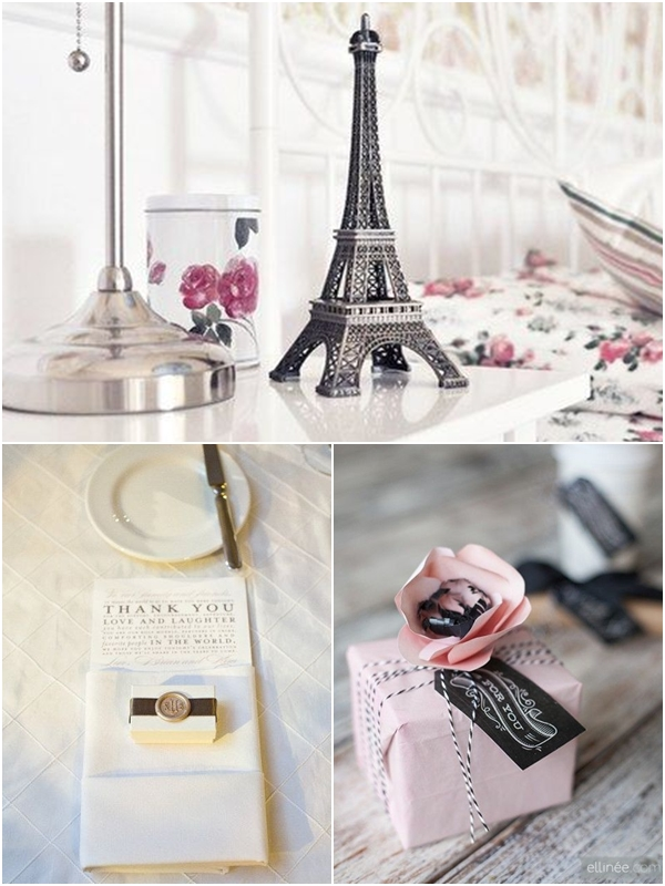 Soft Romantic French Inspired Wedding Ideas