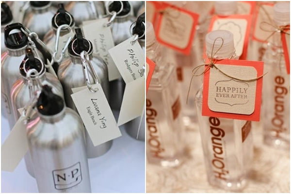 Metal Water Bottles | Flavored Water Bottle Favors