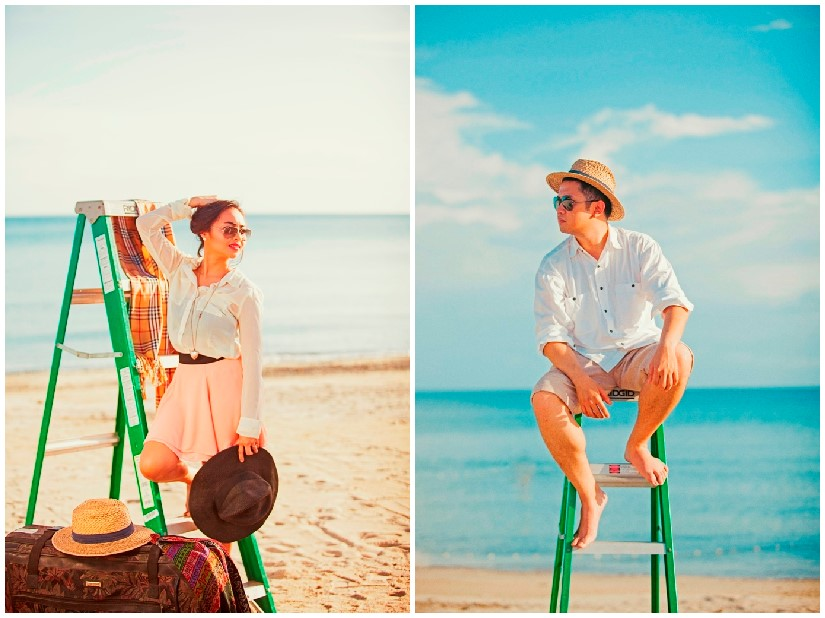 Wedding Philippines - Engagement Session - Fashion Beach (2)