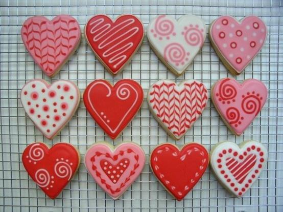 Heart Cookies |Photo via Pinterest