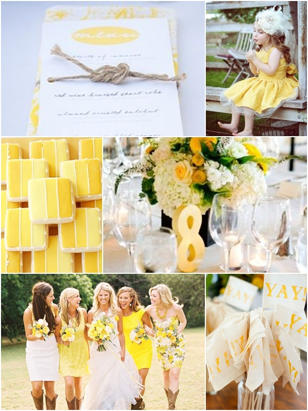 Wedding Philippines - Weddings by Color - Yellow and White Wedding Ideas 01