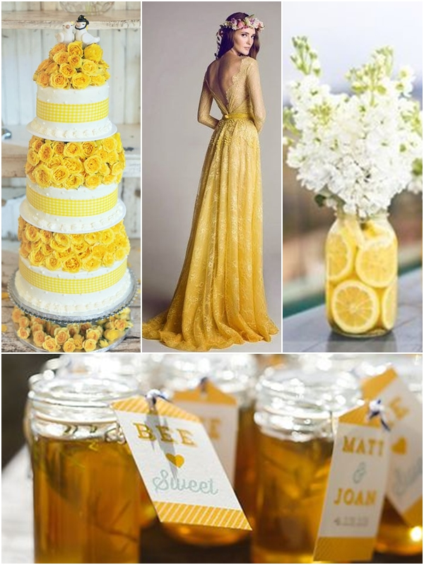 Wedding Philippines - Weddings by Color - Yellow and White Wedding Ideas 02