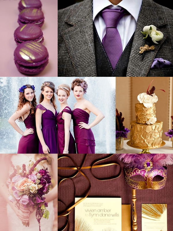 Macaroons | Groom's Suit | Bridesmaids | Wedding Cake | Bouquet | Invitation