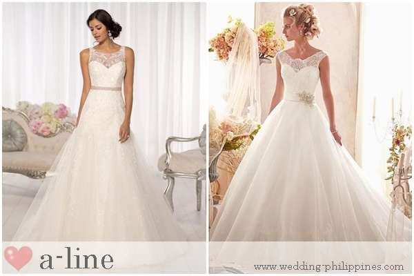 Wedding Philippines - Guide to Wedding Dress Terminology - A line Skirt