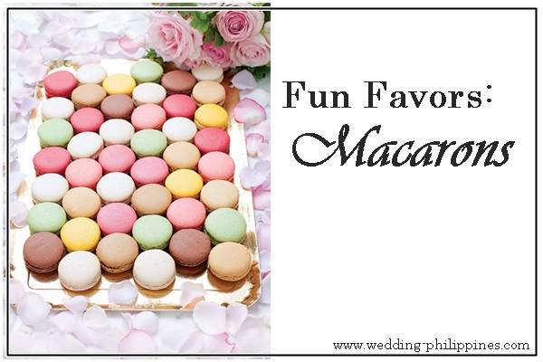 Wedding Philippines - Wedding Favors Souvenirs - Macarons