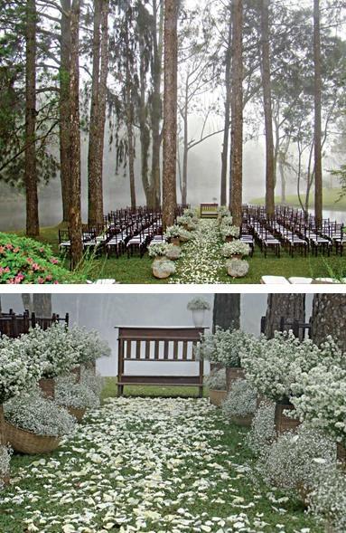 Wedding Philippines - Whimsical Fairytale Forest Woodland Wedding Ideas - Ceremony 02