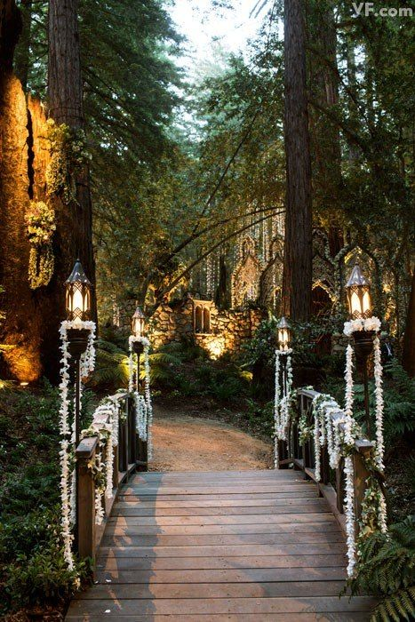 Wedding Philippines - Whimsical Fairytale Forest Woodland Wedding Ideas - Decor 02