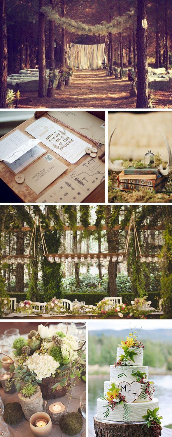 Wedding Philippines - Whimsical Fairytale Forest Woodland Wedding Ideas - Decor 03