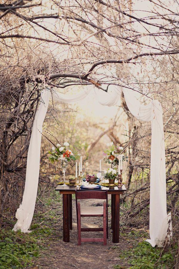 Wedding Philippines - Whimsical Fairytale Forest Woodland Wedding Ideas - Decor 06