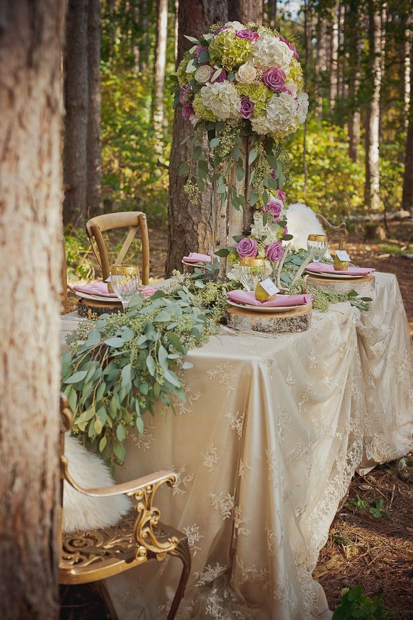 Inspired by forest fairytale weddings wedding for Fairytale inspired home decor