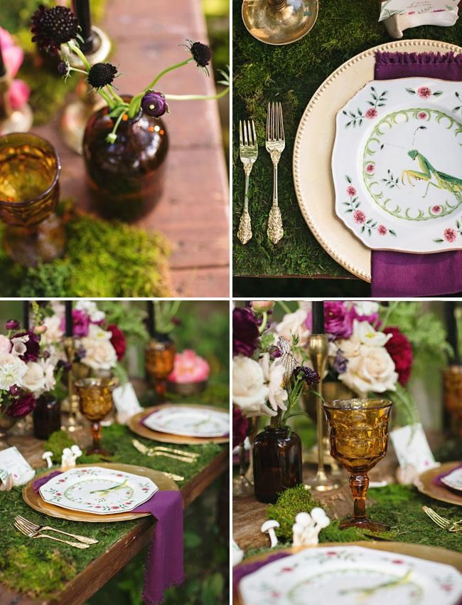 Wedding Philippines - Whimsical Fairytale Forest Woodland Wedding Ideas - Decor 10