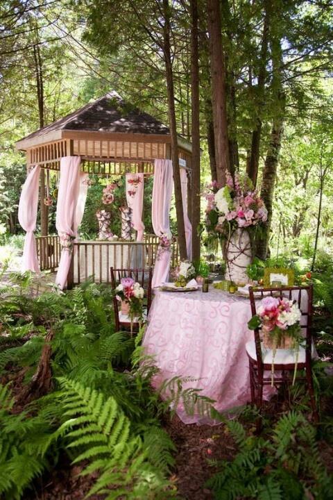 Wedding Philippines - Whimsical Fairytale Forest Woodland Wedding Ideas - Decor 11