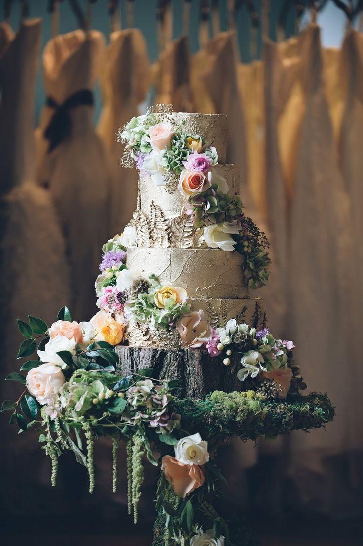 Wedding Philippines - Whimsical Fairytale Forest Woodland Wedding Ideas - Wedding Cake 01