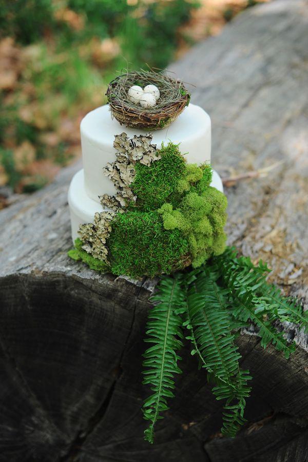 Wedding Philippines - Whimsical Fairytale Forest Woodland Wedding Ideas - Wedding Cake 03