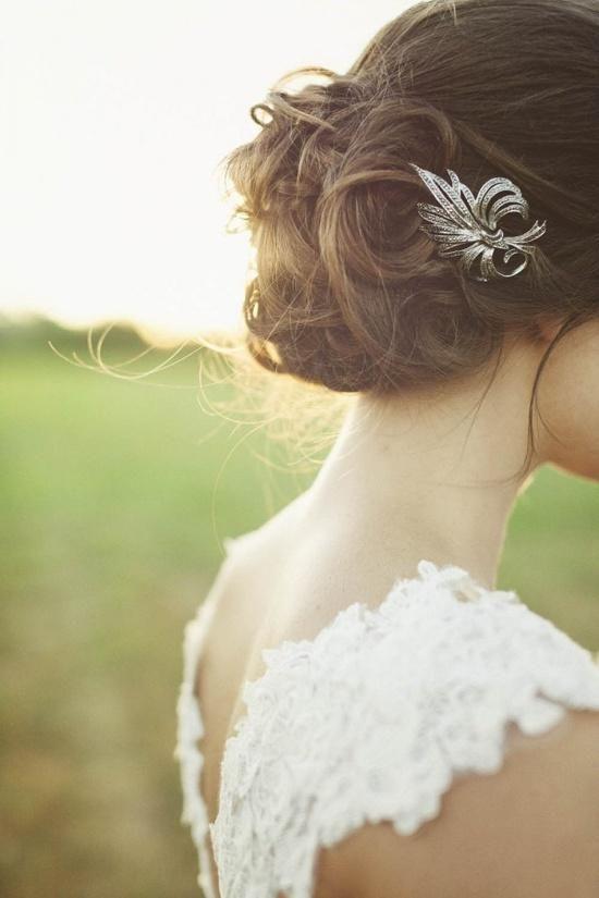 Wedding Philippines - Whimsical Fairytale Forest Woodland Wedding Ideas - Wedding Hair Hairstyle 01