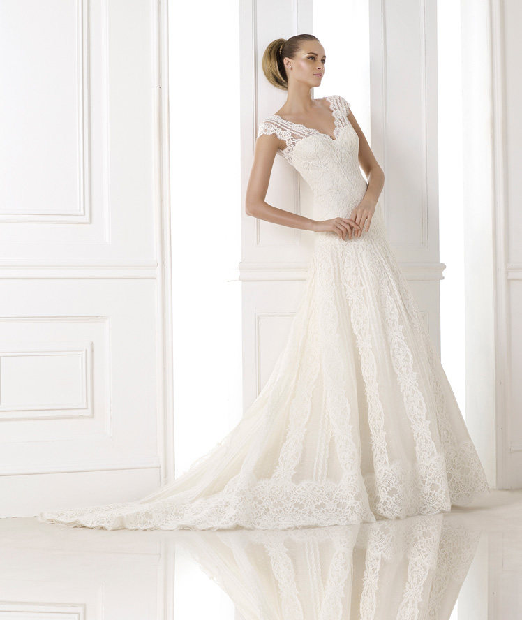 Wedding Philippines - Wedding Dresses - Atelier Pronovias 2015 Bridal Pre-Collection - 04 Kande 1