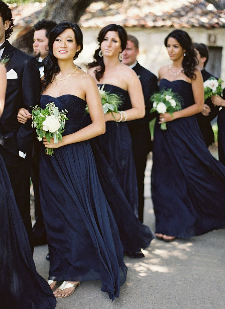 Bridesmaids (Photo by Jose Villa Photography via Style Me Pretty)