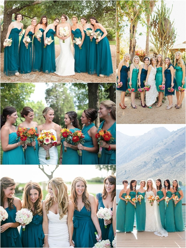 Wedding Philippines Top 10 Most Flattering Bridesmaids Dress Colors 05 Teal