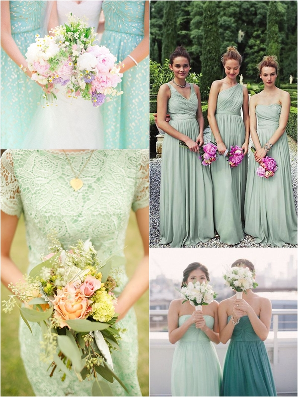 1469429dafd3 Wedding Philippines - Top 10 Most Flattering Bridesmaids Dress Colors - 10  Mint