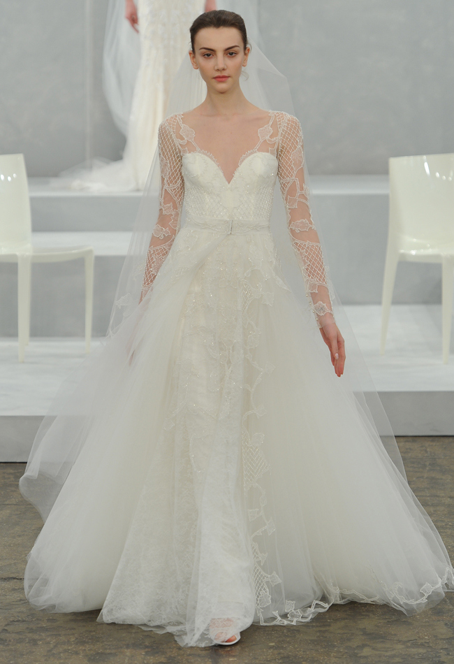 Wedding Philippines - Wedding Dresses Gowns - Monique Lhuillier Spring 2015 Bridal Collection (13)