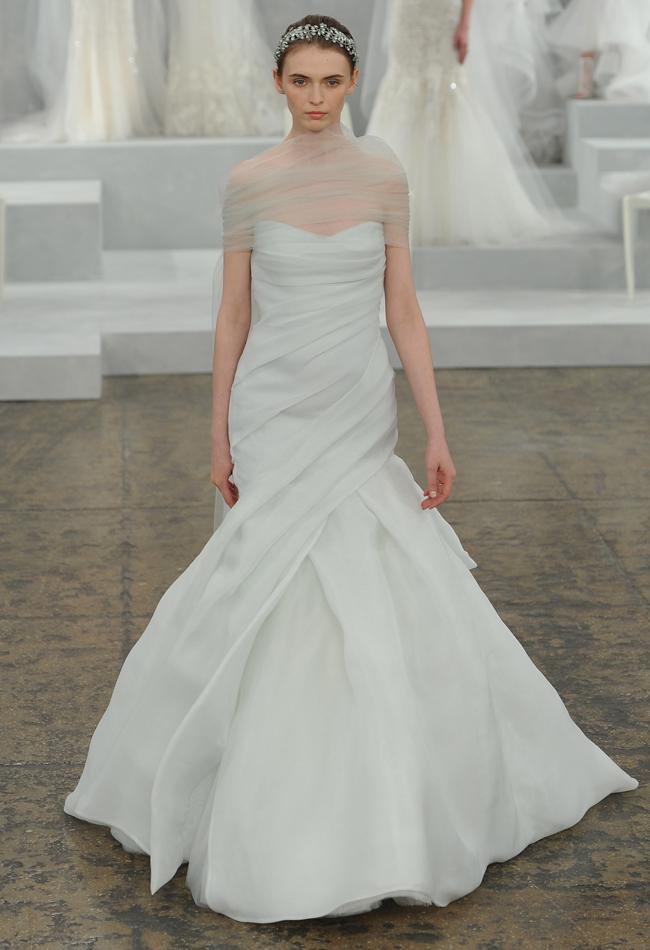 Monique Lhuillier Spring 2015 Bridal Collection - Wedding ...