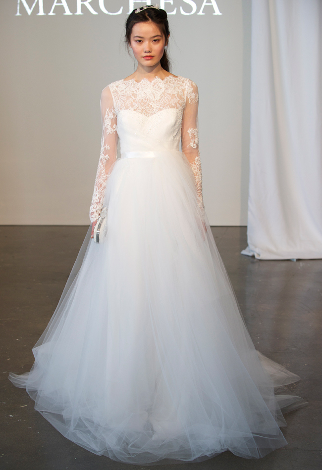 Marchesa Spring 2015 Bridal Collection Wedding