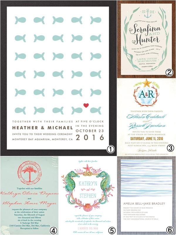 Wedding Invitations: Beach Wedding Theme Ideas - Wedding ...