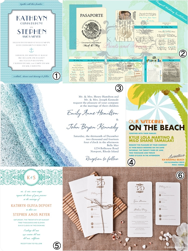 Wedding Philippines - Wedding Invitations - Beach Wedding Invitations 02
