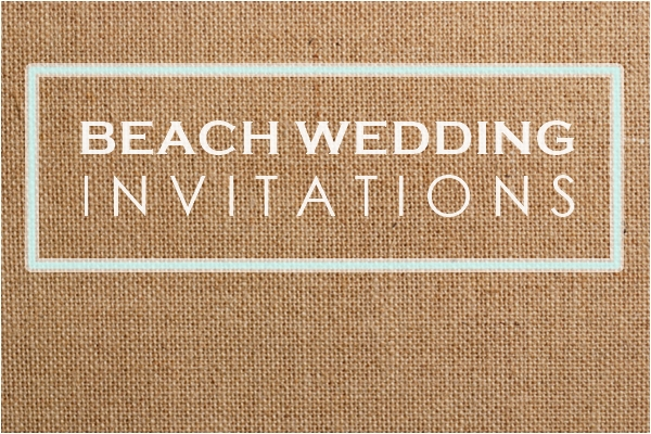 Wedding Philippines - Wedding Invitations - Beach Wedding Invitations