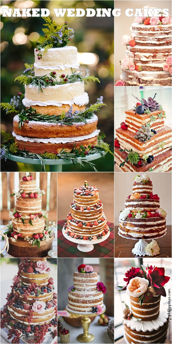 Wedding Trends Naked Cakes Wedding Philippines