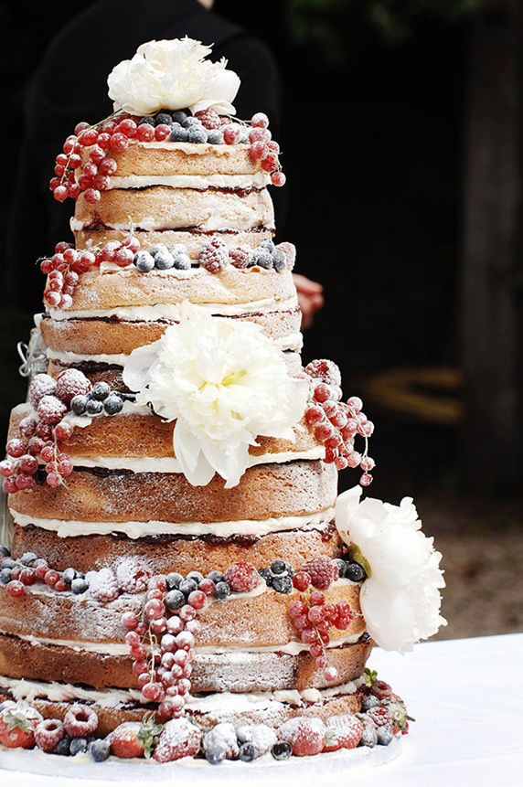 Wedding Trends: Naked Cakes - Wedding Philippines
