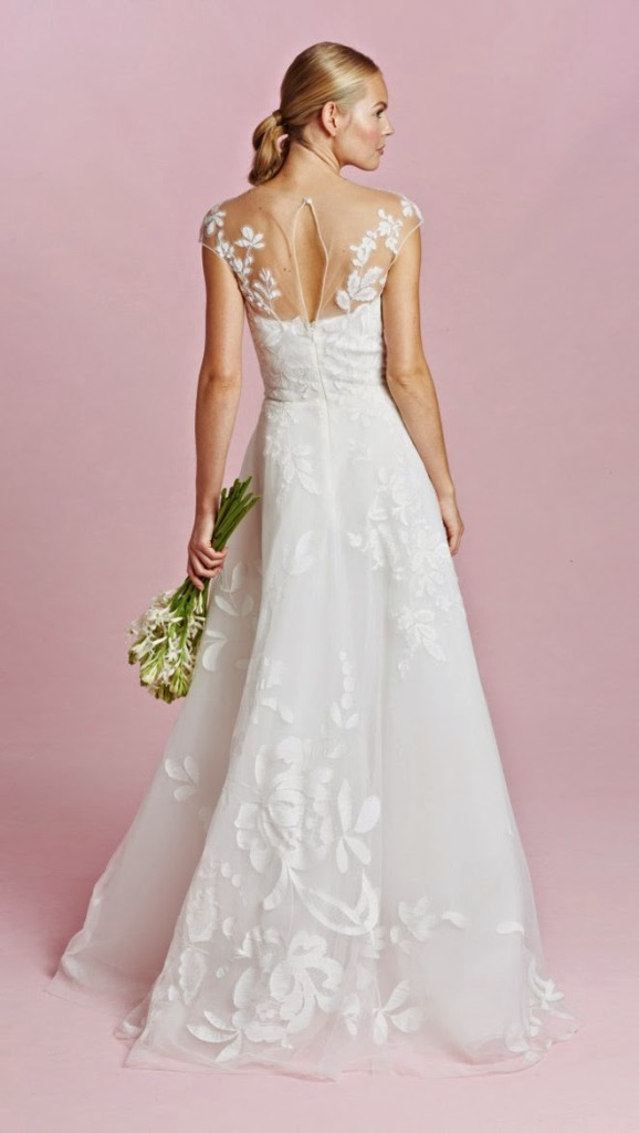 Oscar de la renta fall 2015 bridal collection wedding for Oscar de la renta short wedding dress