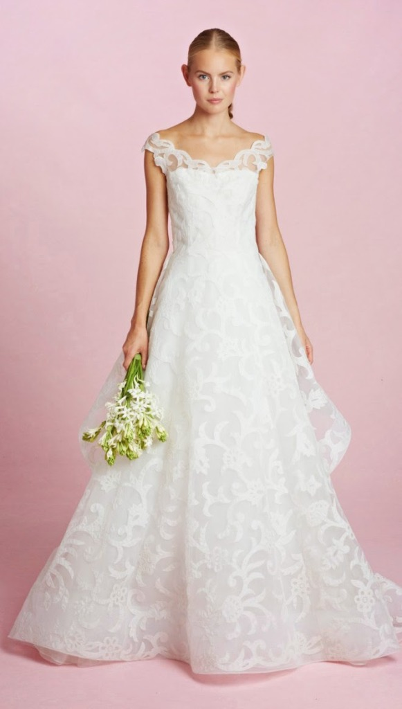 Wedding Philippines - Oscar de la Renta Fall 2015 Bridal Collection (24)