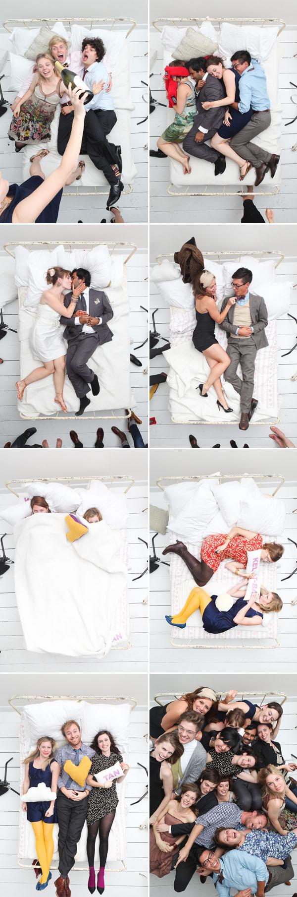 'Camera Over Bed' Vantage Point via Brooklyn Bride