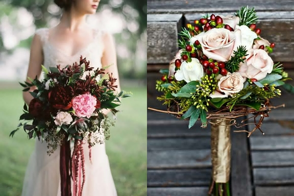 Wedding Philippines - Weddings by Color - Cranberry Gold Brown Wedding Ideas 02