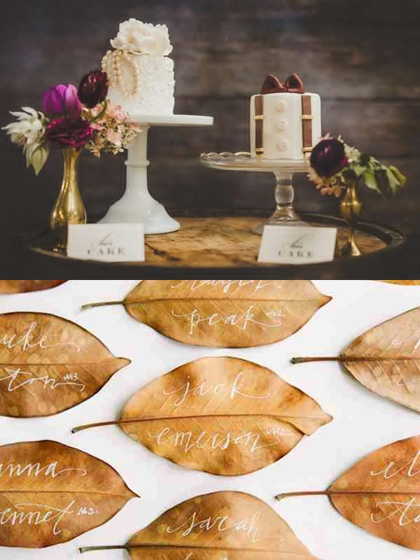 Wedding Philippines - Weddings by Color - Cranberry Gold Brown Wedding Ideas 04