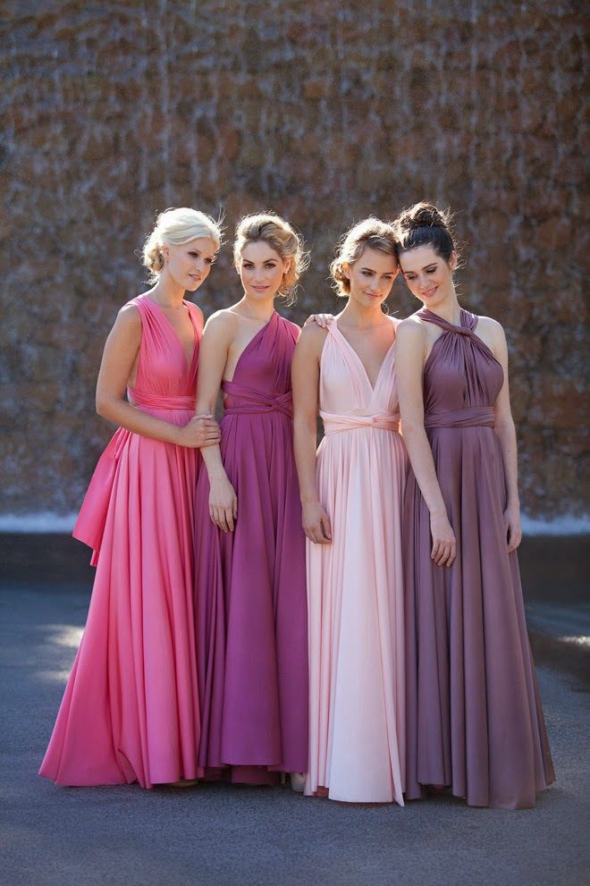 Wedding Philippines - Chic and Stylish Convertible Multi-Wear Bridesmaids Dresses 01