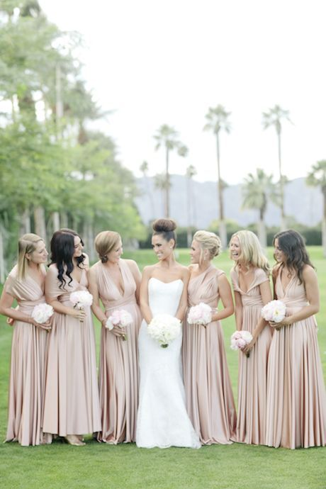 Chic and Stylish Convertible Multi-Wear Bridesmaids Dresses ...