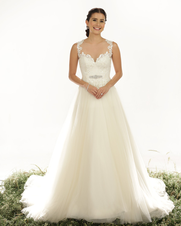 Wedding Principal Sponsors Gown: Veluz Reyes Ready To Wear 2015 Bridal Collection