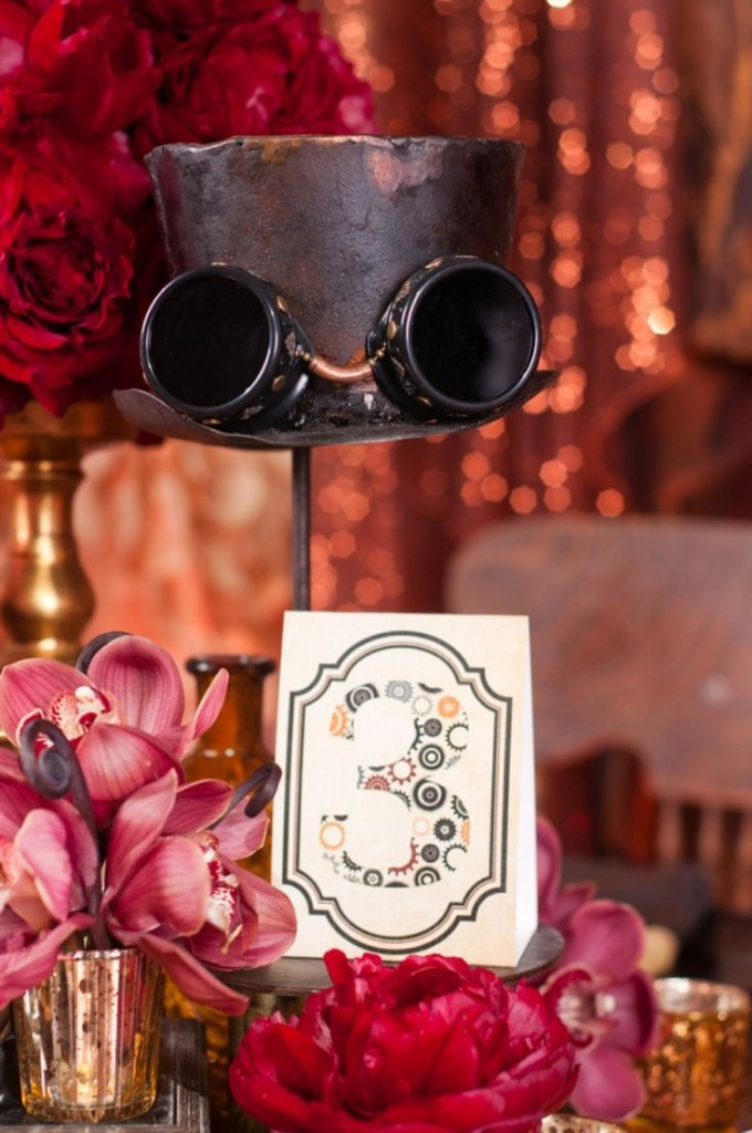 Wedding Philippines - Steampunk Wedding Motif Theme Inspiration